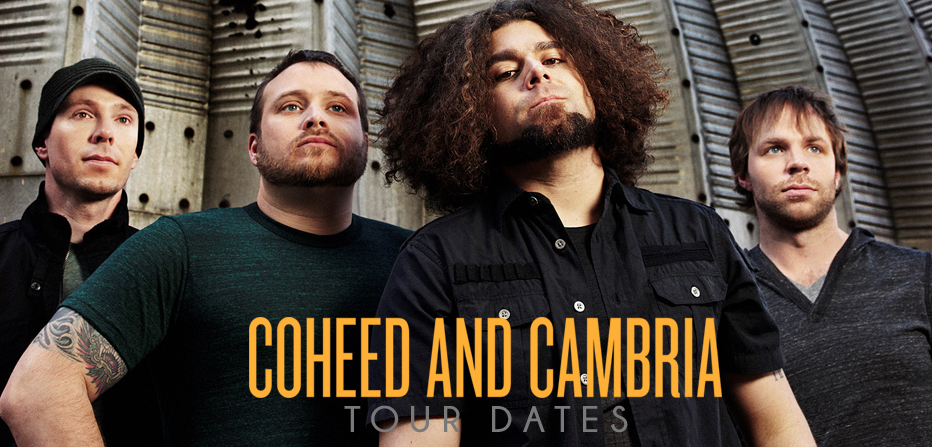 Coheed and cambria tour dates in Sydney